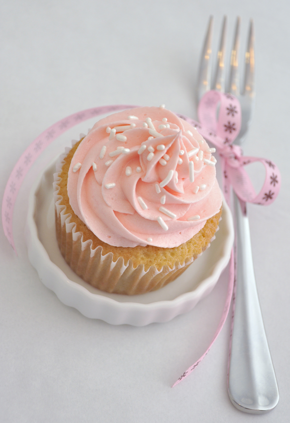 Cupcake rosa