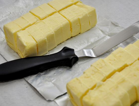 A manteiga!