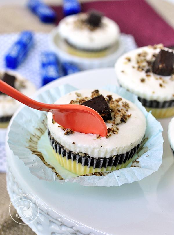 Foto do cupcake de torta de bis