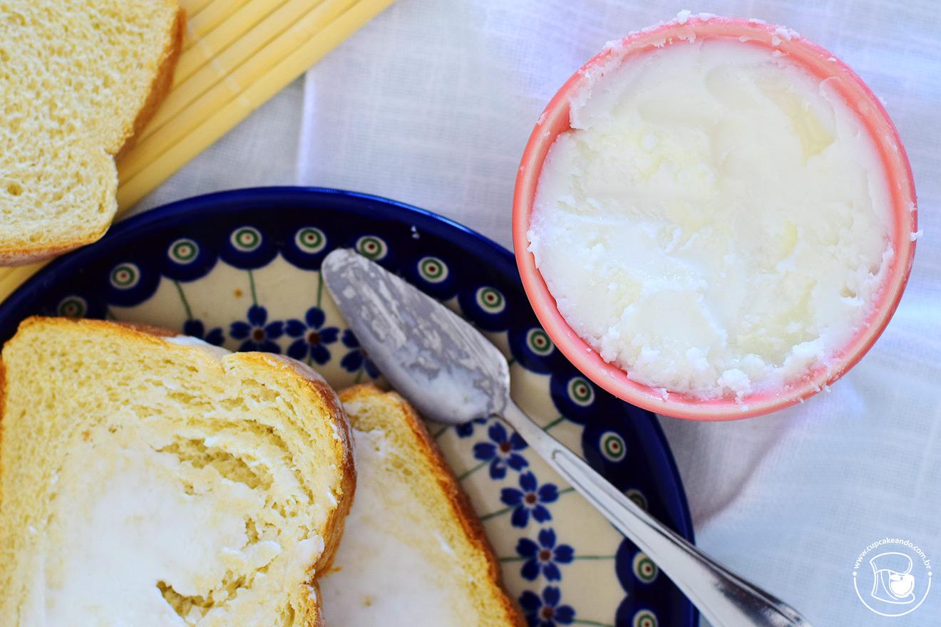 Manteiga vegana caseira