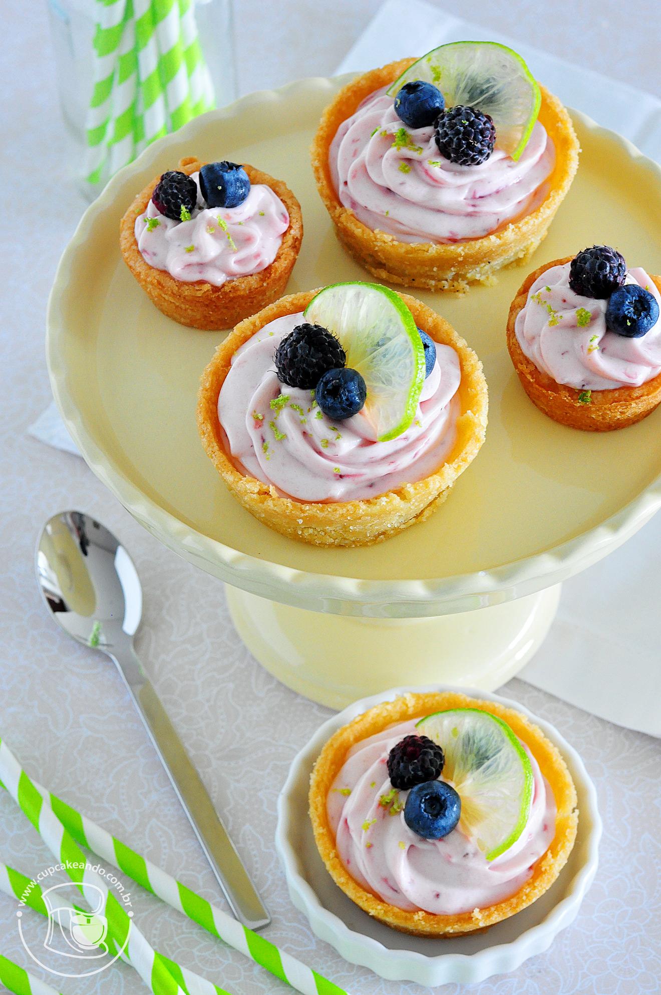 Cookiecup de cheesecake de morango