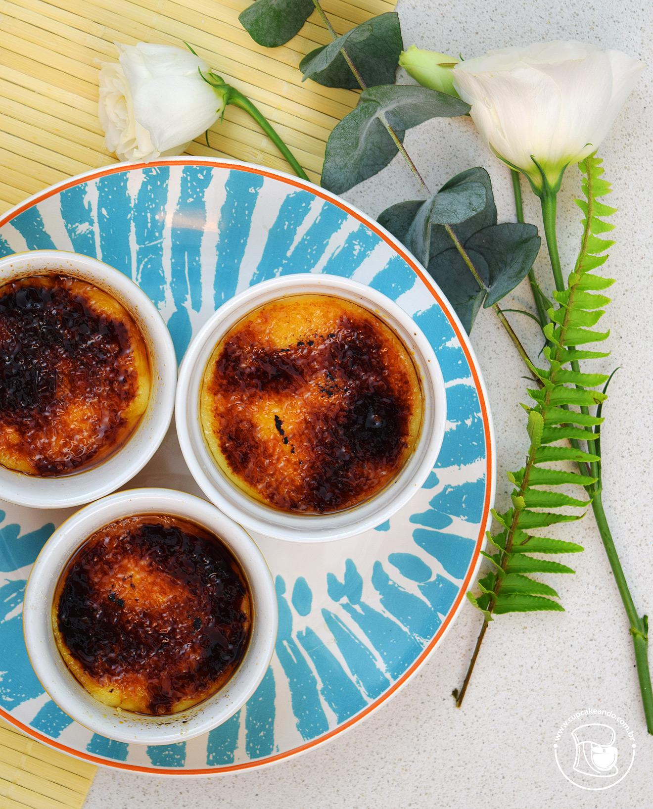 Creme brulee, receita original de 1691 de Massialot