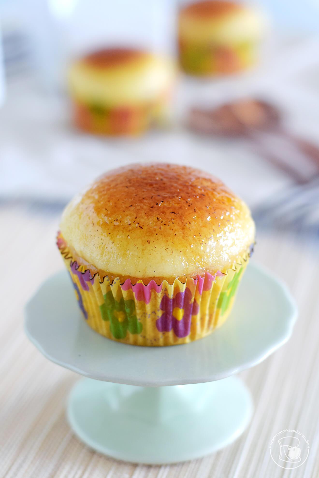 Cupcakes de creme brulee